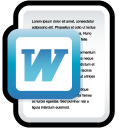Word document (DOC) icon